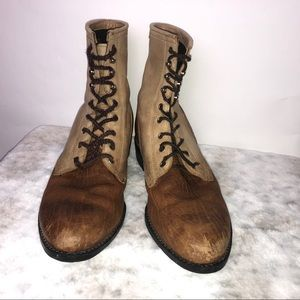 Ariat A2 Competitor ATS Lace up Boots Men's 8.5